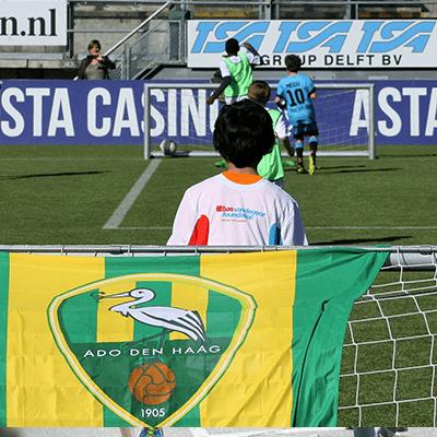 Voetbal clinic ADO Den Haag