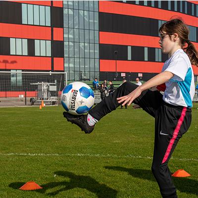 Voetbal clinic Heerenveen 2021